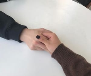 couple, hands, and oppa image
