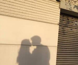 couple, aesthetic, and shadow image