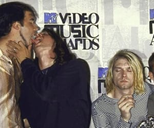 nirvana, dave grohl, and grunge image