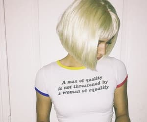 blonde, feminism, and quotes image