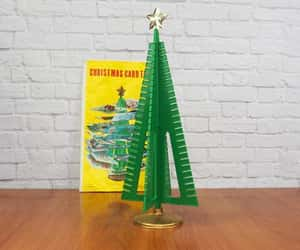 centerpiece, christmas tree, and etsy image