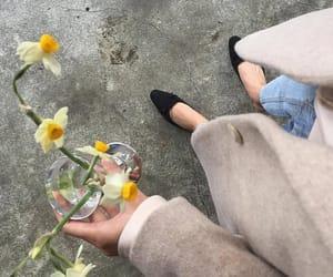 clothing, flowers, and minimalism image