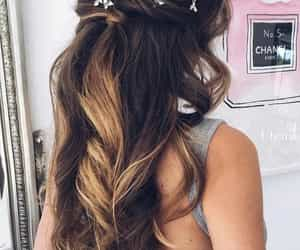 fashion, hair, and Prom image
