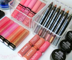 brands, lipstick, and pink image