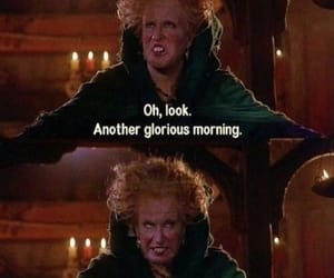 hocus pocus, morning, and funny image