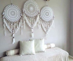 boho, decoration, and dream catcher image