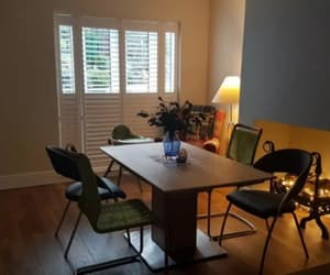 interior home, window plantation, and shutters manchester image