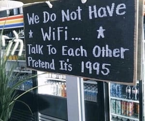 wifi, quotes, and 1995 image