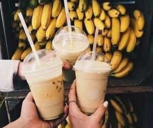 banana, food, and drink image