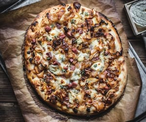 honey, pizza, and onion image