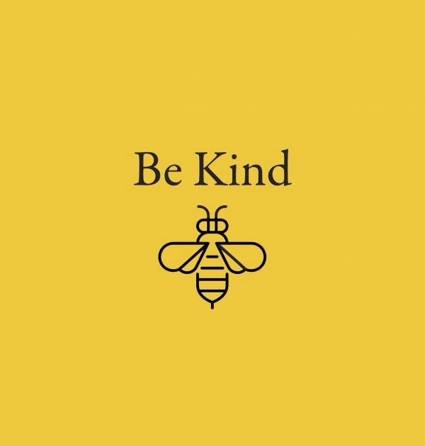 yellow, bee, and quotes image