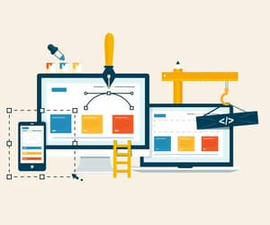 website redesign company and udaipur web developer image