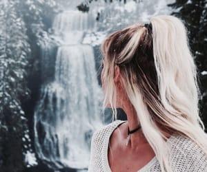 girl, christmas, and hair image