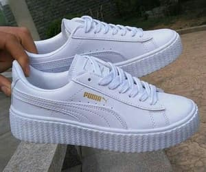 puma, shoes, and white image