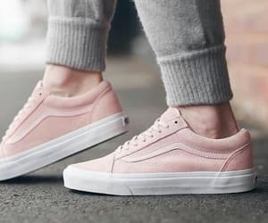 pink, vans, and shoes image