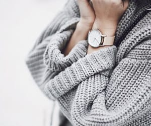 clothing, grey, and sweater image