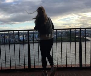 city, germany, and girl image
