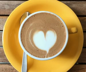 coffee, girly, and heart image
