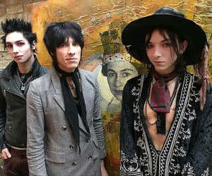 band, black hair, and boy image