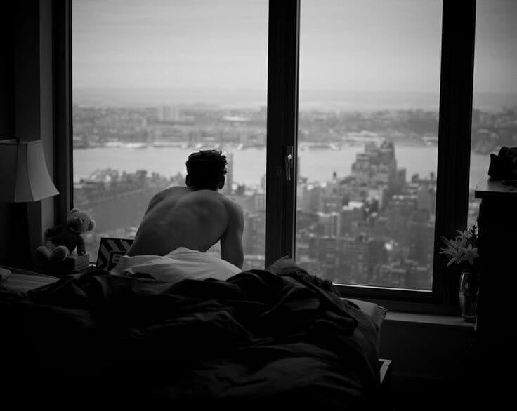 boy, city, and man image