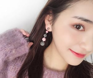 accessories, earrings, and purple image