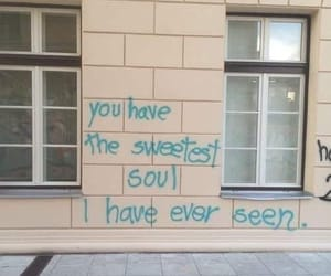 aesthetic, lovely, and graffiti image