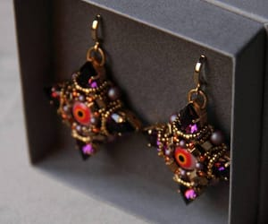 etsy, tribal jewelry, and rhinestone earrings image