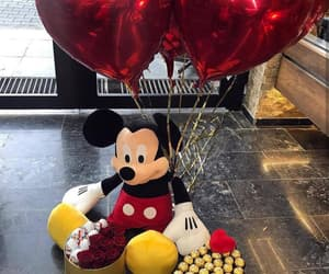 balloons, lovers, and surprise image