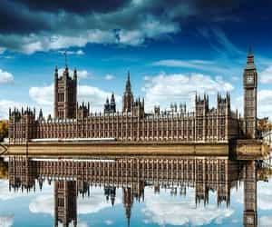 Big Ben, houses of parliament, and london image