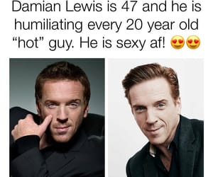 sexy, damian lewis, and homeland image