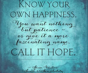 hope, jane austen, and patience image
