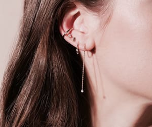 earrings, accessories tumblr, and girl fashion style image