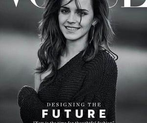 emma watson, actress, and vogue image