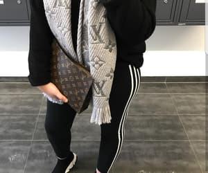 adidas, leggings, and sneakers image
