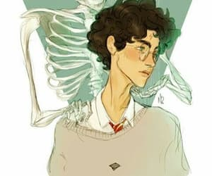 cursed, atalienart, and harry potter image