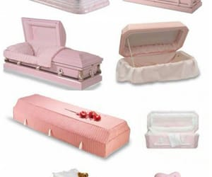 barbie, coffin, and disgusting image