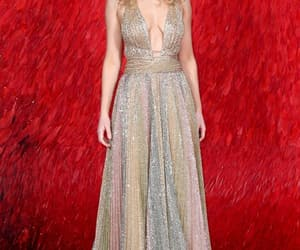 actress, red carpet, and red sparrow image