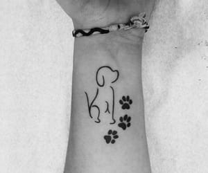 dog, puppy, and tatto image