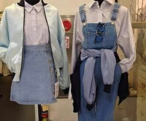 vintage, clothes, and denim image