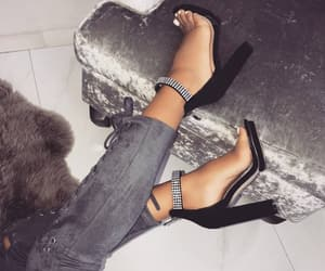 fashion style, fashion inspo, and shoes heels image