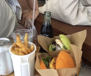 burgers, French Fries, and delicious image