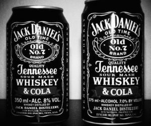 jack daniels, whiskey, and cola image
