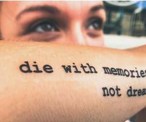 dreams, frasi, and Tattoos image