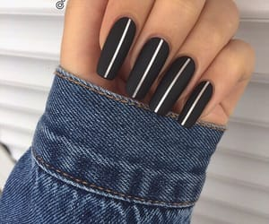 beautiful, stripes, and black image