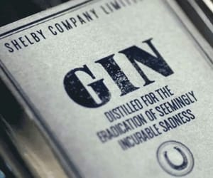 peaky blinders and gin image