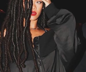 rihanna, beauty, and black image