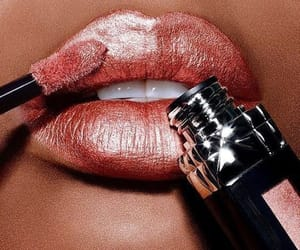 lipgloss, makeup, and lips image
