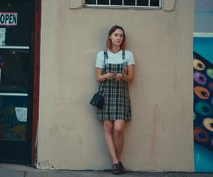 lady bird, Saoirse Ronan, and film image
