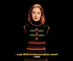 gif, lady bird, and Saoirse Ronan image