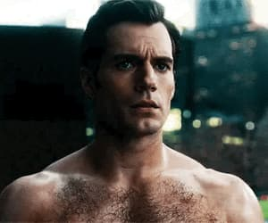 clark kent, gif, and Henry Cavill image